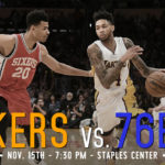 Lakers Game Preview: The Philadelphia 76ers