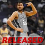The Lakers Release Andrew Bogut