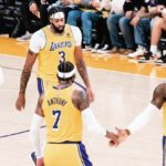 los angeles lakers lebron james russell westbrook anthony davis carmelo anthony