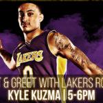 Meet Kyle Kuzma at new Dunk Contest LA Store Opening