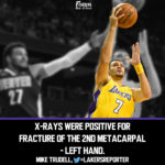 Lakers News: Larry Nance Jr. Breaks Hand, is Out Indefinitely