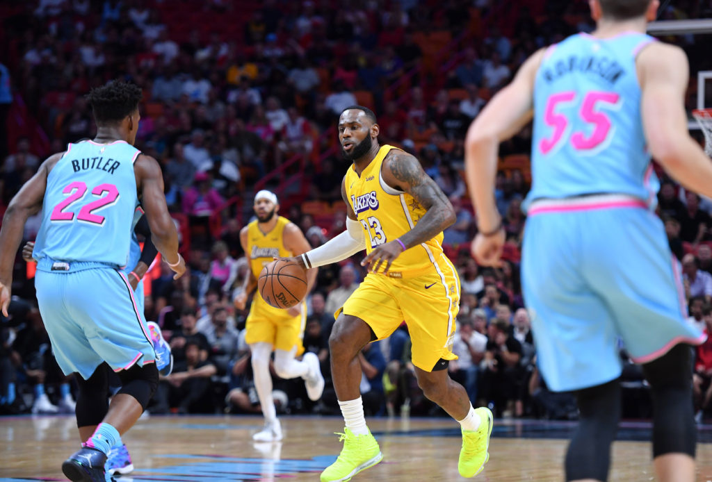 lakers heat lebron james jimmy butler laker film room podcast