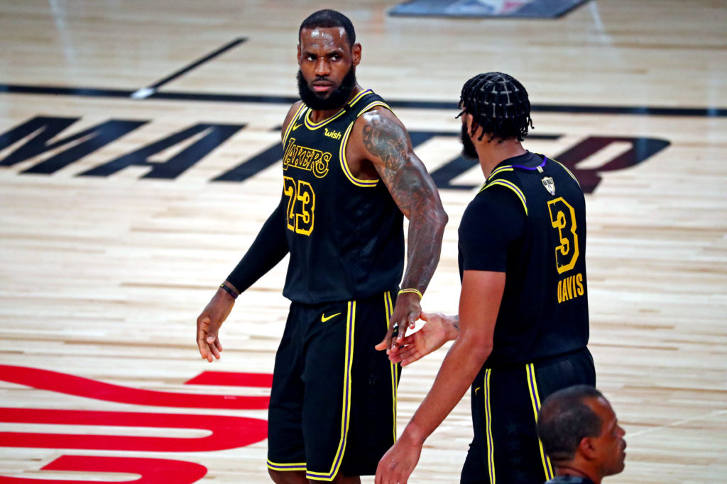 lakers heat nba finals lebron james anthony davis laker film room podcast