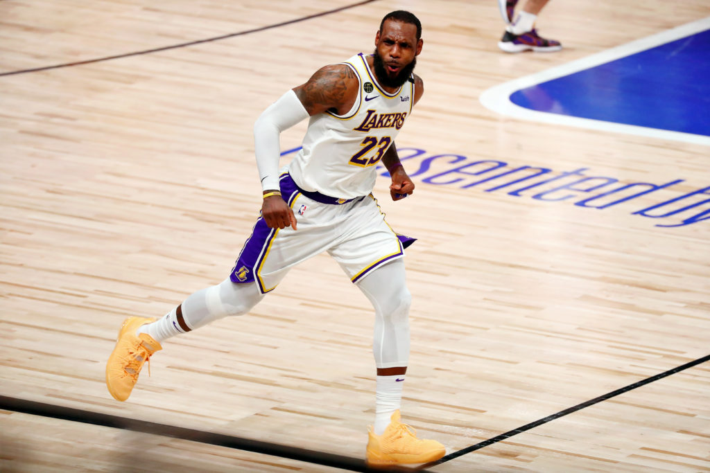 lebron james nba bubble lakers championship laker film room podcast