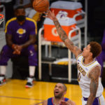 kyle kuzma contract extension laker film room podcast