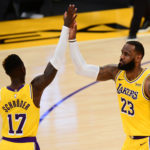 lakers stock report lebron james dennis schroder