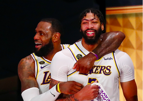lakers nba champions lebron james anthony davis laker film room podcast