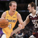 Alex Caruso, a long way from College Station to the Lakers