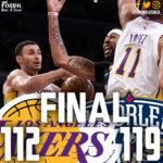 Laker Film Room: Lakers Comeback Falls Short, 119-112 to Pelicans