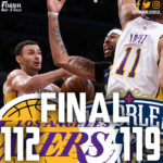 Lakers Cannot Close, Lose 119-112 to Pelicans
