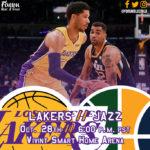 Game Preview: Lakers @ Utah Jazz