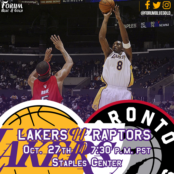 Lakers Week 10 Predictions Video: Lakers Game Preview: Lakers Vs Raptors