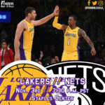 Lakers Game Preview: The Brooklyn Nets