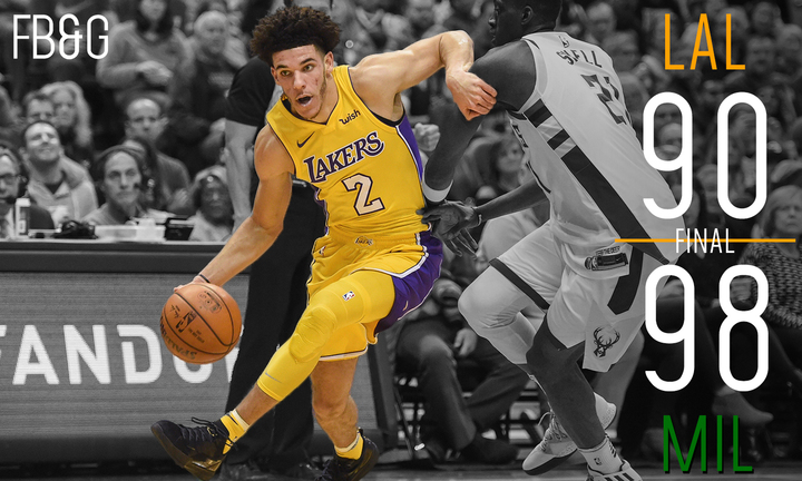 Lonzo Ball Career Stats >> Laker Film Room: Lonzo Ball's First Career Triple-Double Isn't Enough, 98-90 - Forum Blue And Gold
