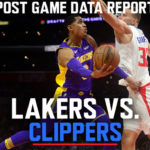 Lakers Data Report: Clippers Game
