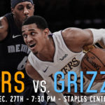 Lakers Game Preview: The Memphis Grizzlies