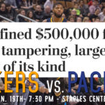 Lakers Game Preview: The Indiana Pacers