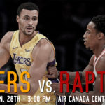 Lakers Game Preview: The Toronto Raptors
