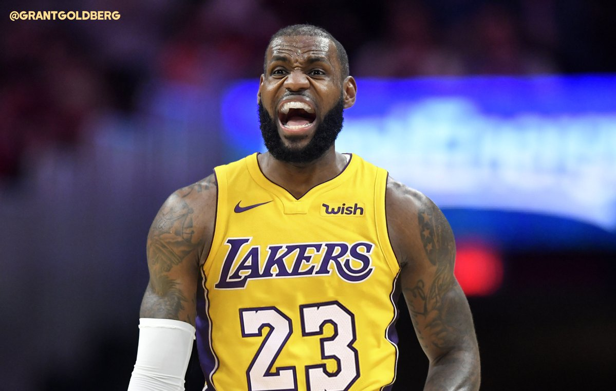 chooses in Blue James - LeBron Agency Free  Forum Lakers