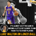 Lonzo Ball stars in the first Lakers scrimmage