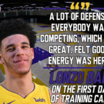 Lakers Training Camp: Defense is the Theme of the Lakers First Practice