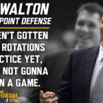 Laker Film Room: Luke Walton Talks Lakers 3-Point Defense