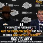 Lakers Media Day: Rob Pelinka Values Financial Flexibility