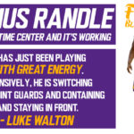 Lakers Analysis: Julius Randle is now a full-time Center and it's Working