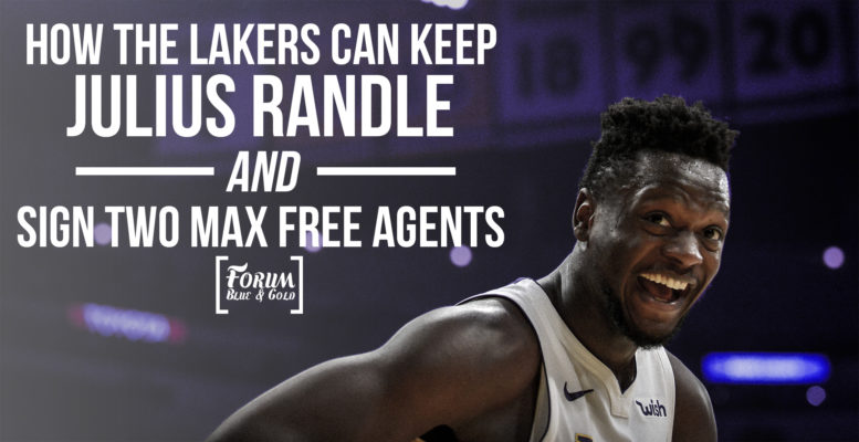 How the Lakers Can Keep Julius Randle and Still Sign 2 Max Free Agents