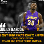 Julius Randle is Unsure if he will be a Starter