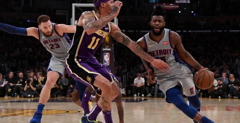 Report: Lakers trade for Pistons Reggie Bullock