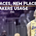 Same Faces, New Places: Lakers Usage