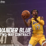 Lakers News: L.A. Signs Vander Blue to Two-Way Contract